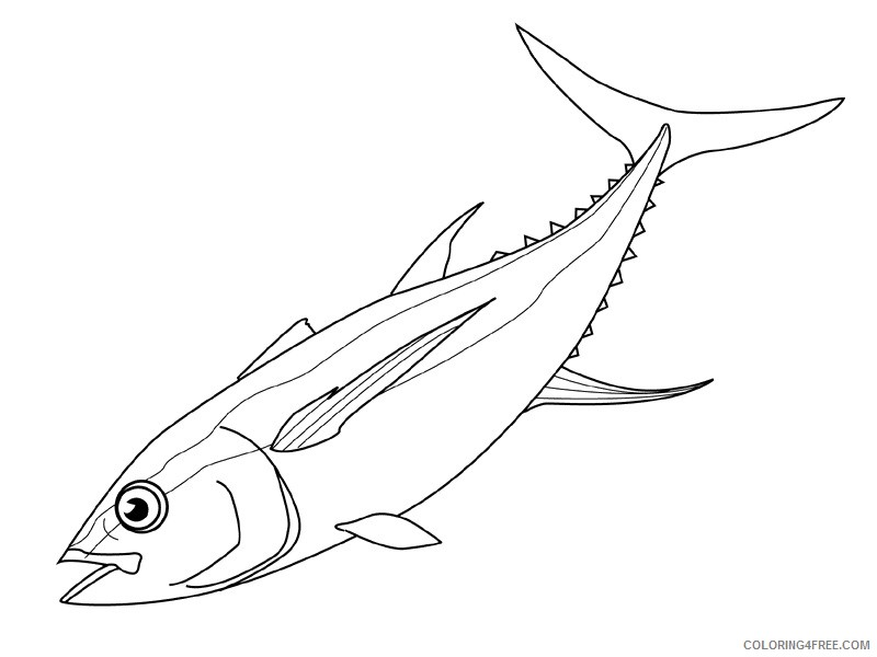 Fish Coloring Pages fish animals 2 Printable Coloring4free