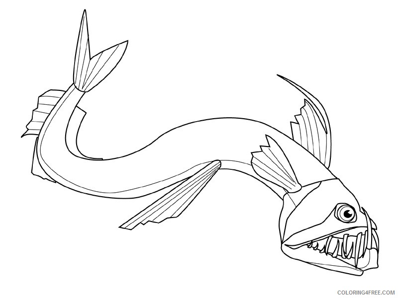 Fish Coloring Pages fish animals 20 Printable Coloring4free