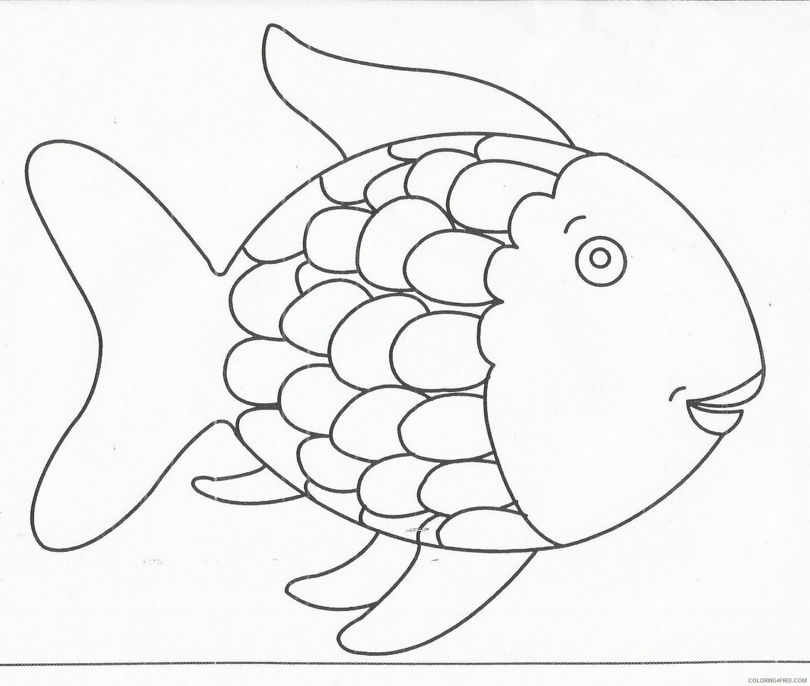Fish Coloring Pages squish preschool ideas fish BURNeF Printable Coloring4free