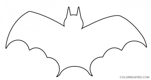 Halloween Bat Coloring Pages - GetColoringPages.com | 315x590