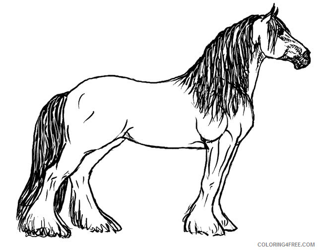 Horse Quality Coloring Pages horse book free free Printable Coloring4free