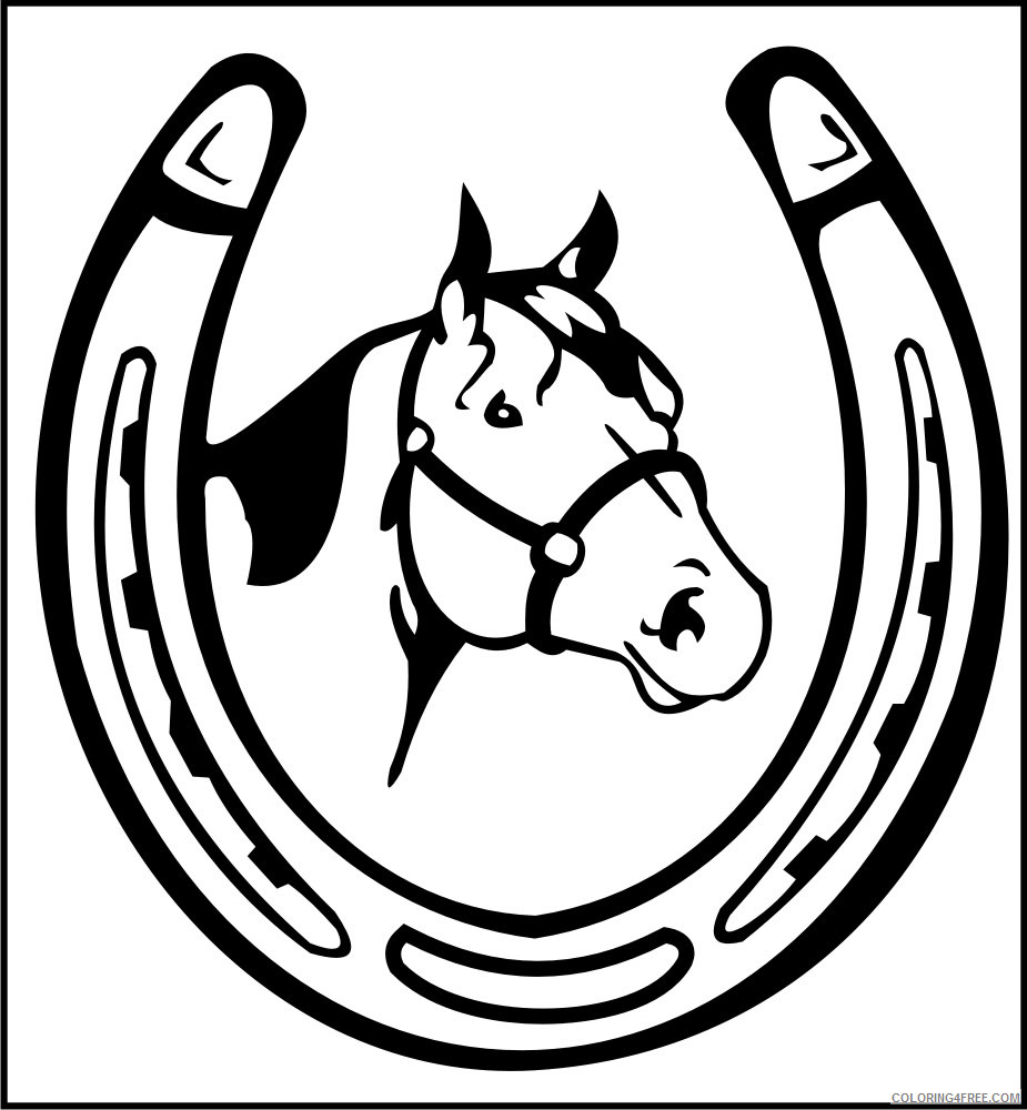 Horse Quality Coloring Pages not so fortunate horse named Printable Coloring4free