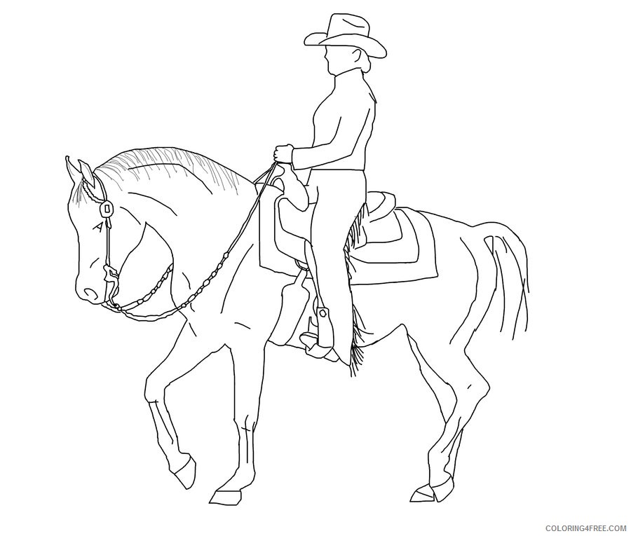 Horse Quality Coloring Pages pleasure horse pw16iJ jpg Printable Coloring4free