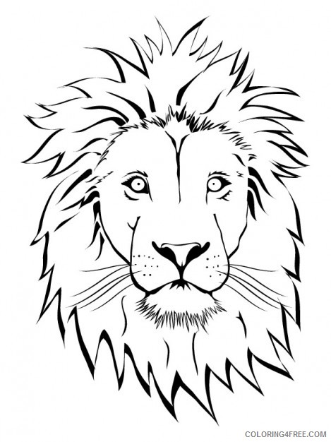 Lion Outline Coloring Pages Lion Vectors Photos And Psd Printable Coloring4free Coloring4free Com Check out our lion king printables selection for the very best in unique or custom, handmade pieces from our prints shops. lion outline coloring pages lion
