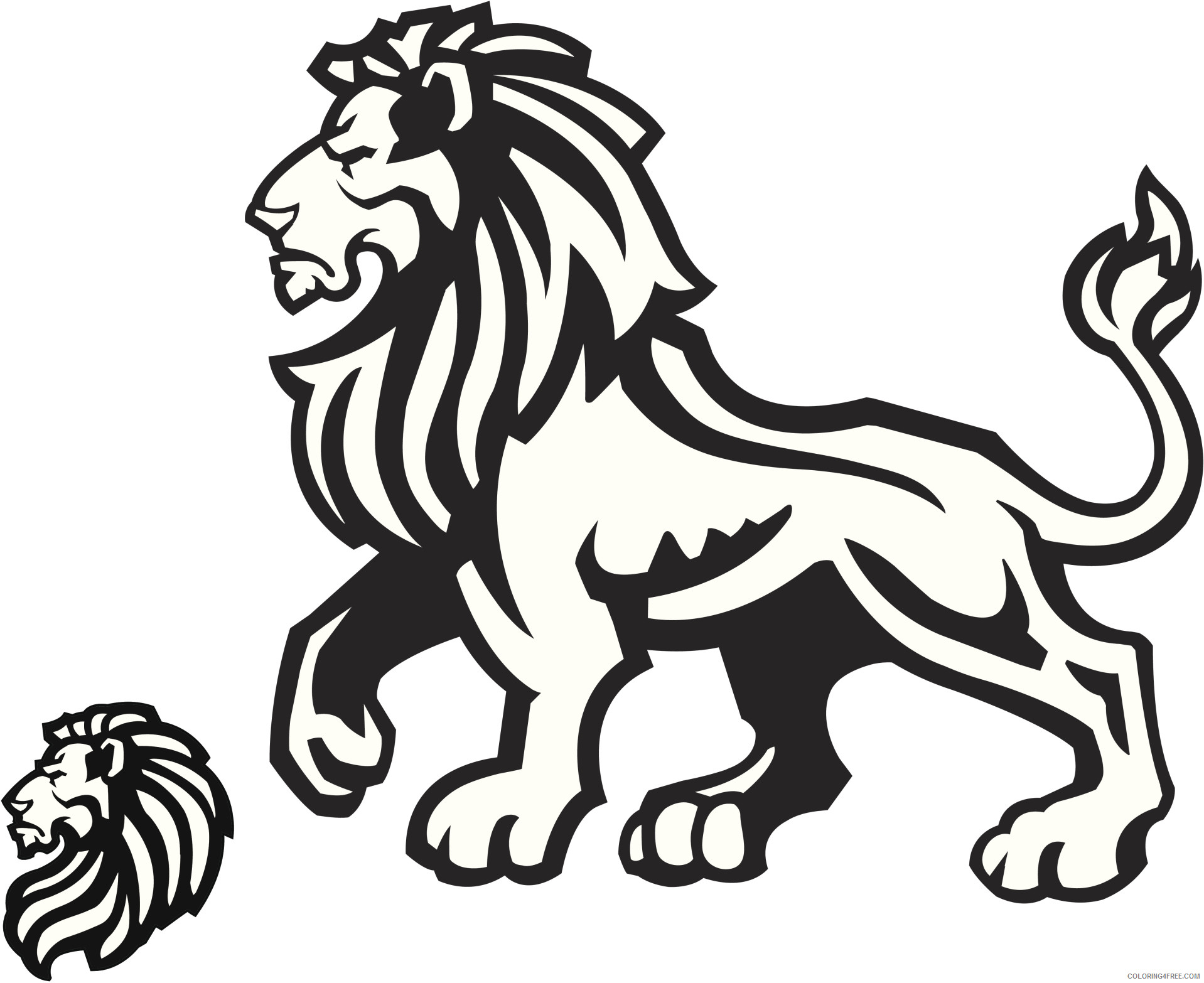 Lion of Judah Coloring Pages lion of judah free Printable Coloring4free