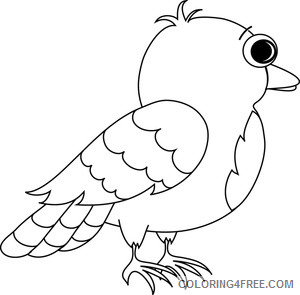 Small Bird Coloring Pages bird images bird Printable Coloring4free