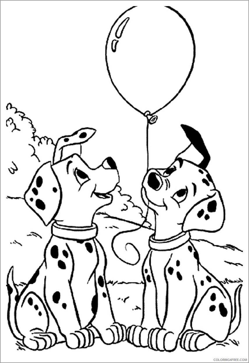 101 Dalmatians Coloring Pages Cartoons disney 101 dalmatians unsmushed  Printable 2020 82 Coloring4free - Coloring4Free.com
