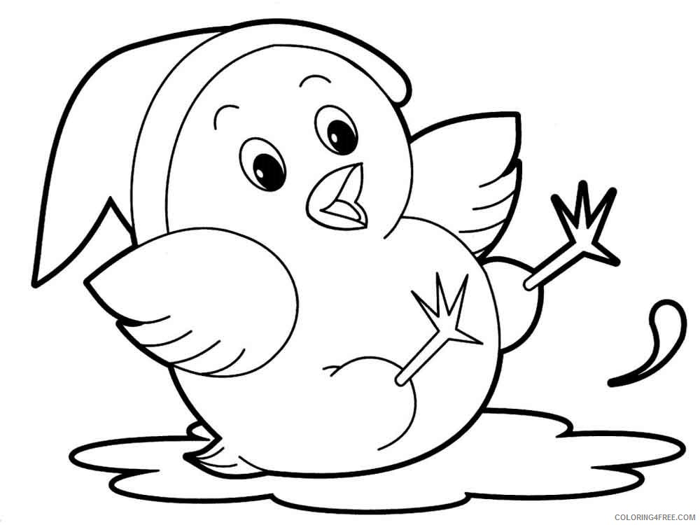 Animal Cartoons Coloring Pages Cartoons Cartoon Animal 21 Printable 2020  0475 Coloring4free - Coloring4Free.com