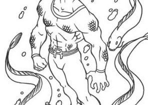 Lego Aquaman Coloring Page - Free Lego Coloring Pages ... | 210x296