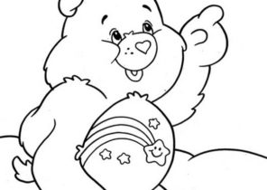 Care Bears Coloring Pages Coloring4free Com