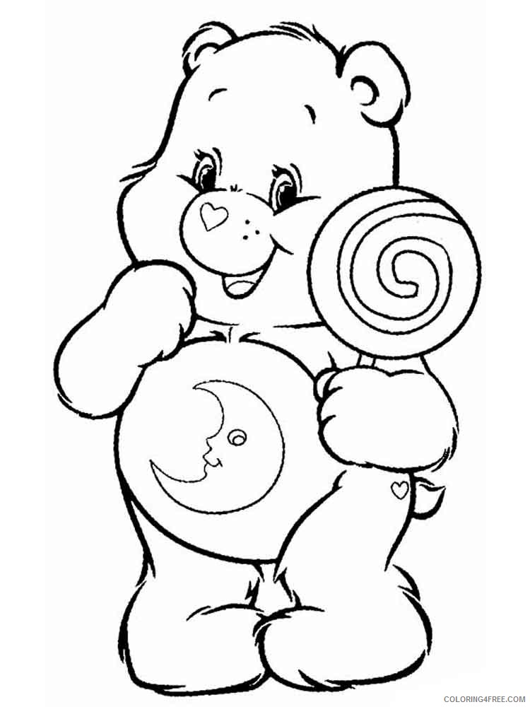 - Care Bears Coloring Pages Cartoons Care Bears 12 Printable 2020 1591  Coloring4free - Coloring4Free.com