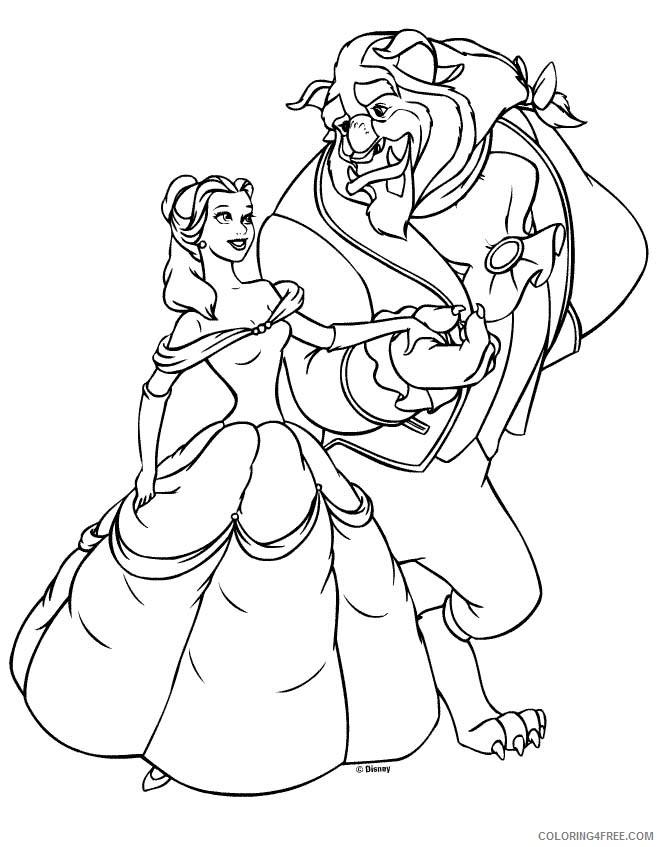 Disney Princess Coloring Pages Cartoons Disney Princess Online Printable  2020 2385 Coloring4free - Coloring4Free.com