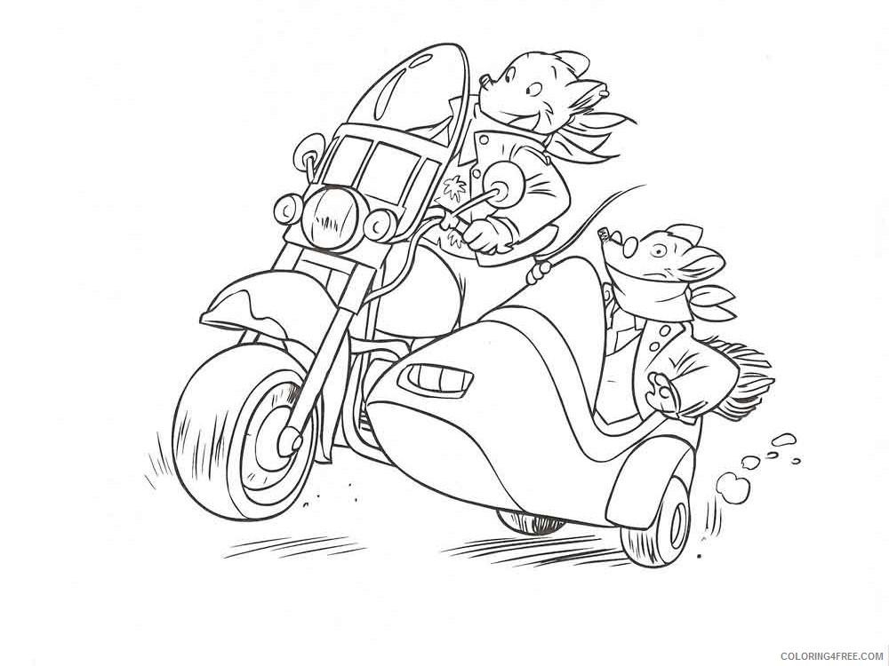 Geronimo Stilton Coloring Pages Cartoons geronimo stilton 5 Printable 2020 2870 Coloring4free