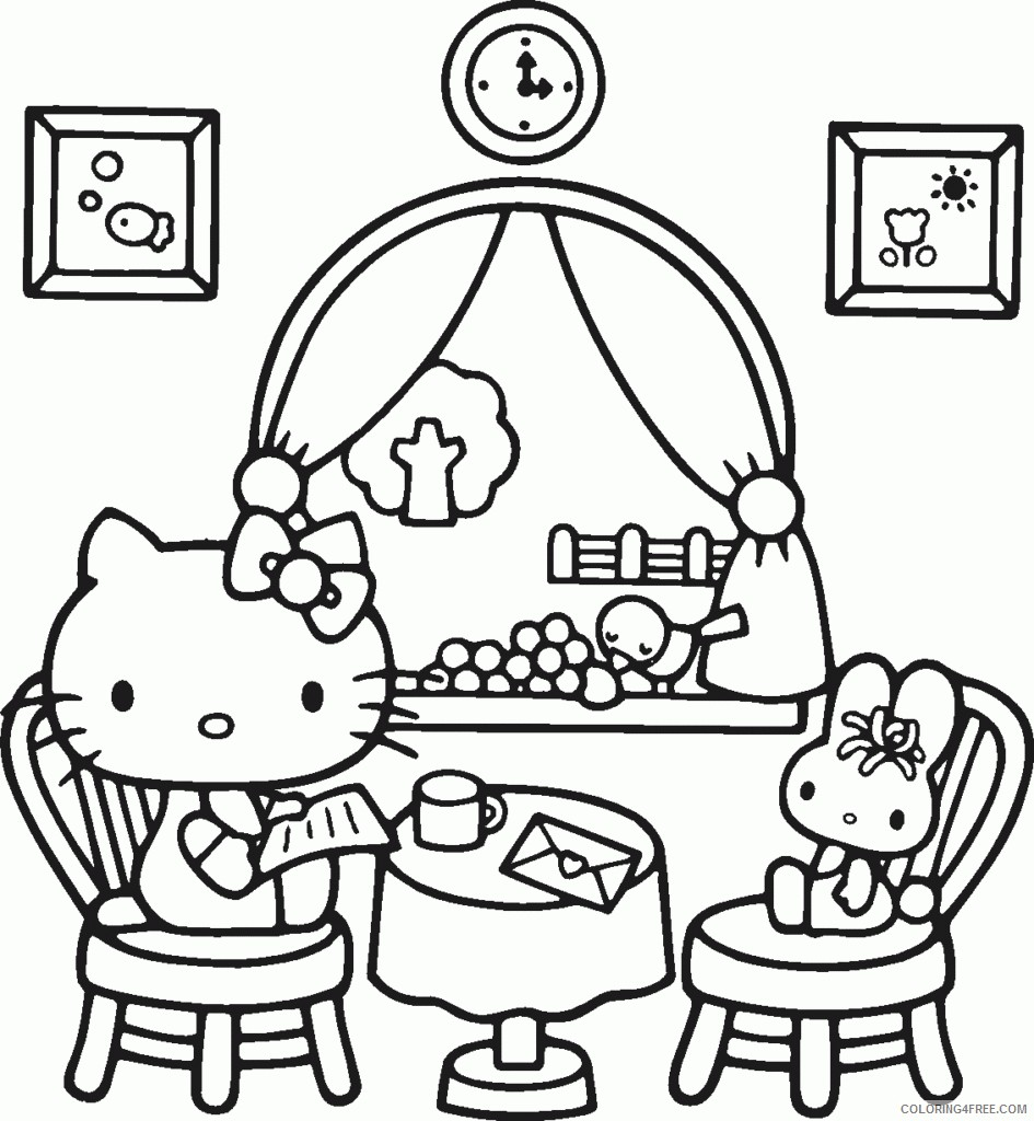 Hello Kitty Coloring Pages Cartoons 1539942005 How To Draw Free Hello Kitty Download Printable 2020 3132 Coloring4free Coloring4free Com