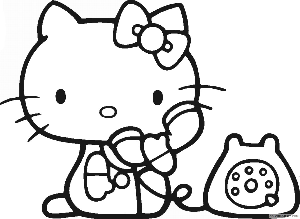 Hello Kitty Coloring Pages Cartoons hello_kitty_cl39 Printable 2020 3173 Coloring4free