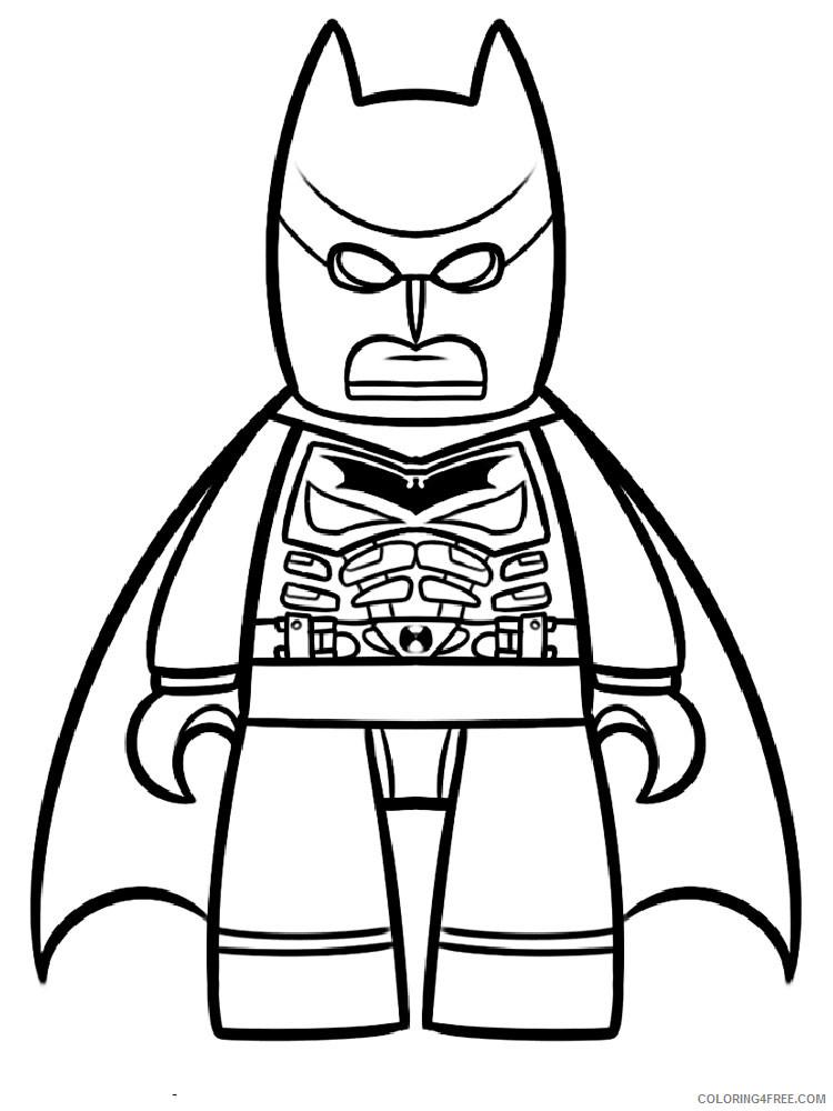 LEGO Batman Coloring Pages Cartoons lego batman for boys 1 Printable 2020 3715 Coloring4free