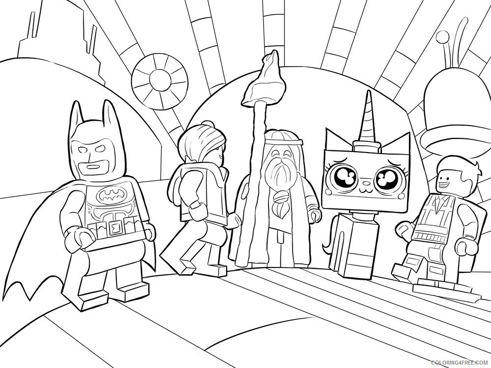LEGO Batman Coloring Pages Cartoons lego batman for boys 11 Printable 2020 3716 Coloring4free