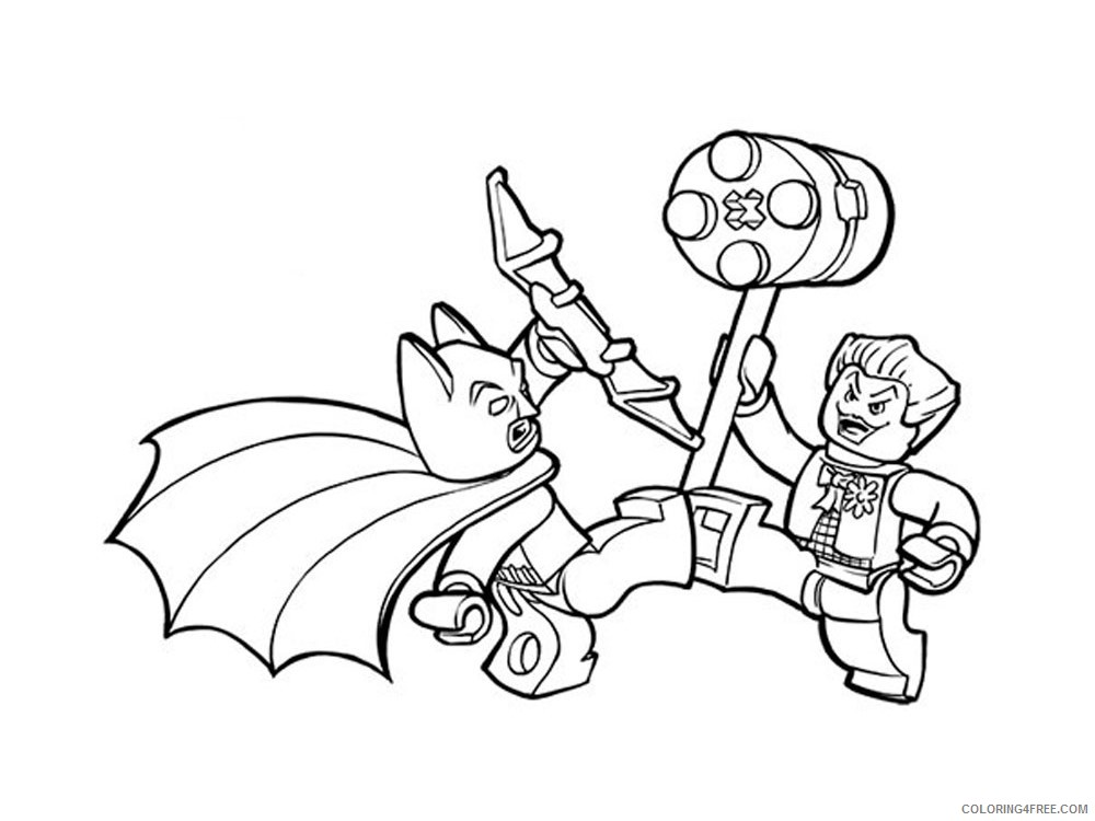 LEGO Batman Coloring Pages Cartoons lego batman for boys 3 Printable 2020 3720 Coloring4free