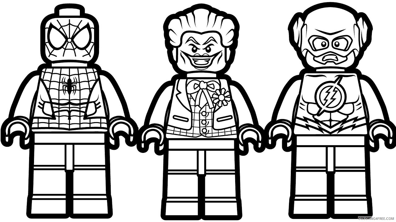 Lego Coloring Pages Cartoons Marvel Lego Printable 2020 3704 Coloring4free Coloring4free Com