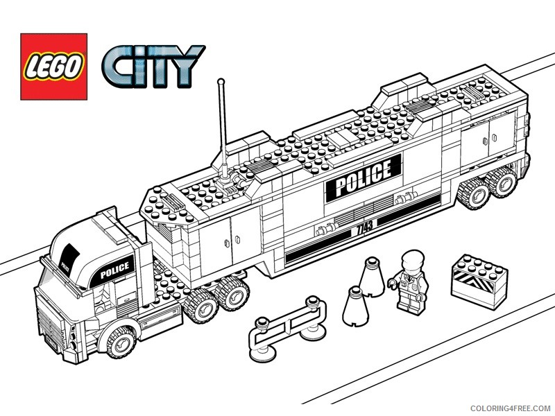 - LEGO Coloring Pages Cartoons Lego Dp8S7 Printable 2020 3660 Coloring4free -  Coloring4Free.com