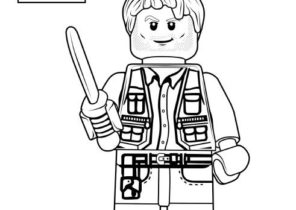 Lego Jurassic World Coloring Pages Coloring4free Com