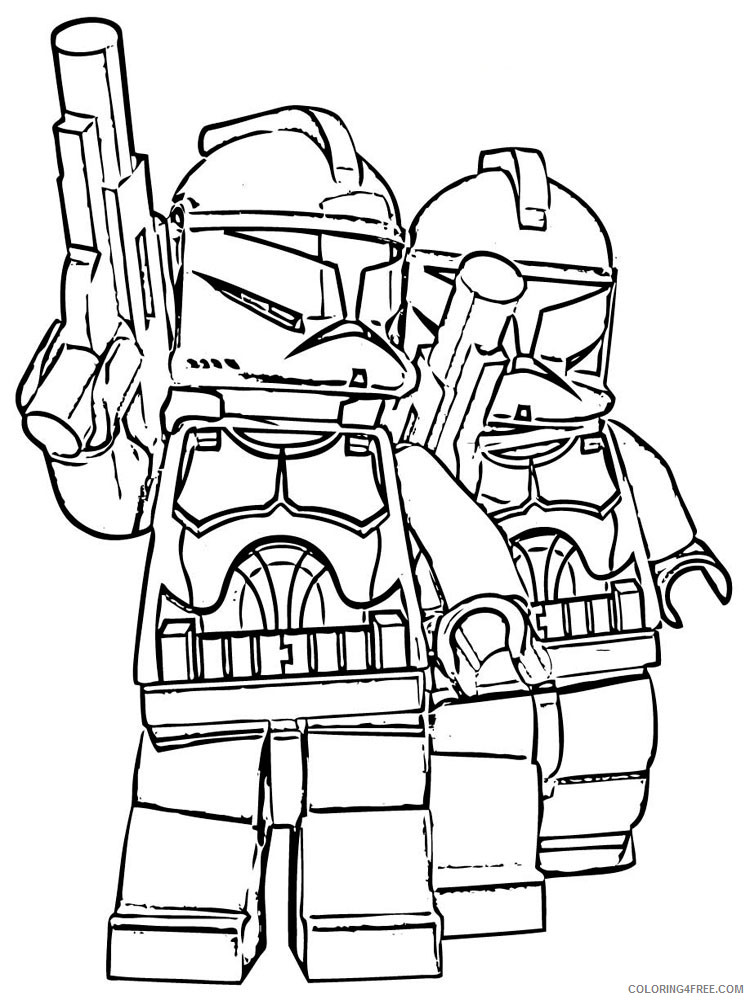 - LEGO Star Wars Coloring Pages Cartoons Lego Star Wars For Boys 11 Printable  2020 3774 Coloring4free - Coloring4Free.com