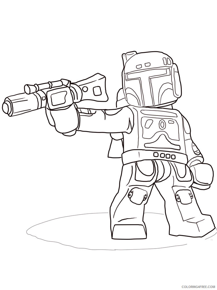 - LEGO Star Wars Coloring Pages Cartoons Lego Star Wars For Boys 8 Printable  2020 3782 Coloring4free - Coloring4Free.com