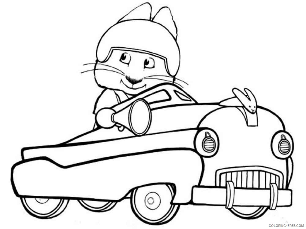 Max And Ruby Coloring Pages Cartoons Max And Ruby 8 Printable 2020 3997 Coloring4free Coloring4free Com