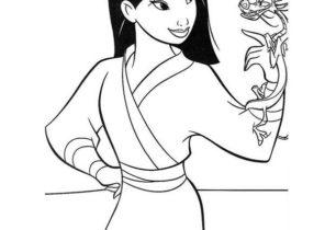 Mulan Coloring Pages Coloring4free Com