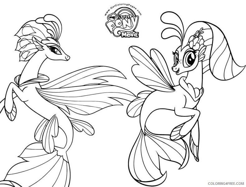 - My Little Pony Coloring Pages Cartoons My Little Pony Der Film F8sM1  Printable 2020 4530 Coloring4free - Coloring4Free.com