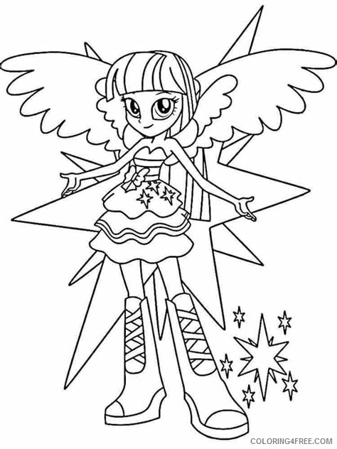 - My Little Pony Equestria Girls Coloring Pages Cartoons Printable MLP  Equestria Girls Printable 2020 4613 Coloring4free - Coloring4Free.com