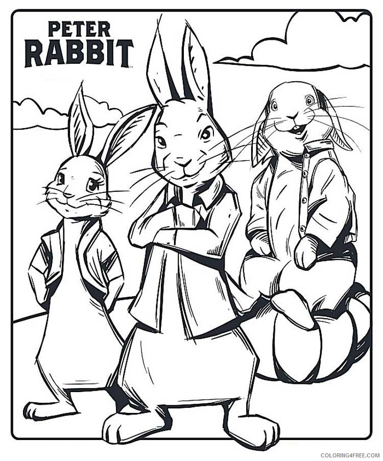 - Peter Rabbit Coloring Pages Cartoons Peter Rabbit 7 Printable 2020 4905  Coloring4free - Coloring4Free.com