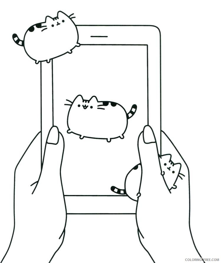 - Pusheen Coloring Pages Cartoons 1541489893_cat Fresh Drawing Game At Stock Pusheen  Book New The Gallery Printable 2020 5171 Coloring4free - Coloring4Free.com