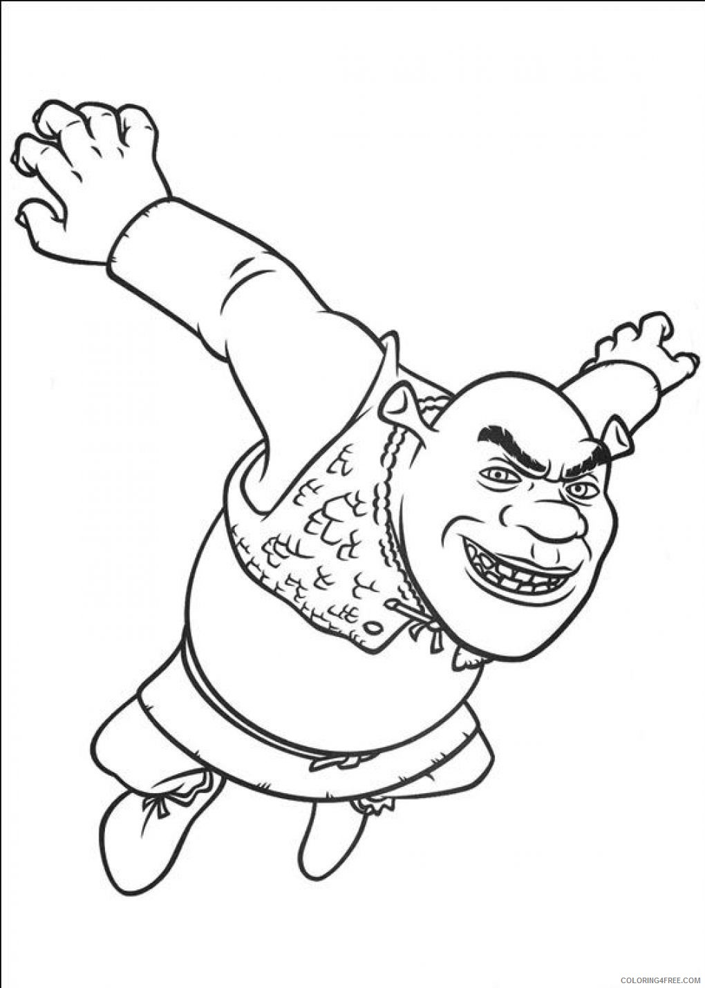 Prince Charming Shrek Coloring Pages Coloring And Drawing