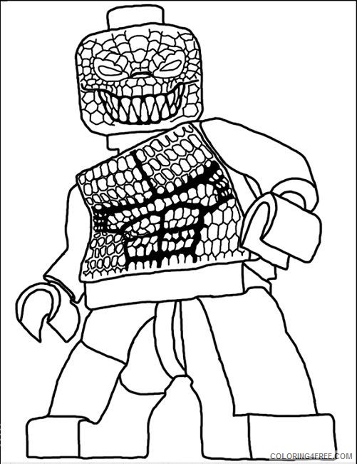 Suicide Squad Coloring Pages Cartoons Lego Suicide Squad Printable 2020 6074 Coloring4free