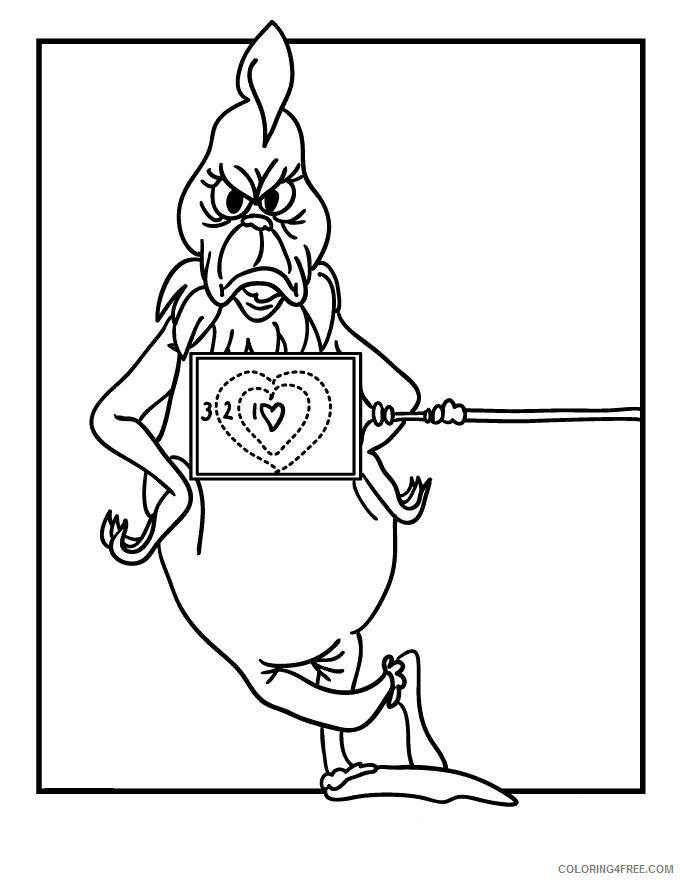 The Grinch Coloring Pages Cartoons 1571964366 Grinch The Grinch Elegant How The Grinch Stole Christmas Grinch Printable 2020 6425 Coloring4free Coloring4free Com