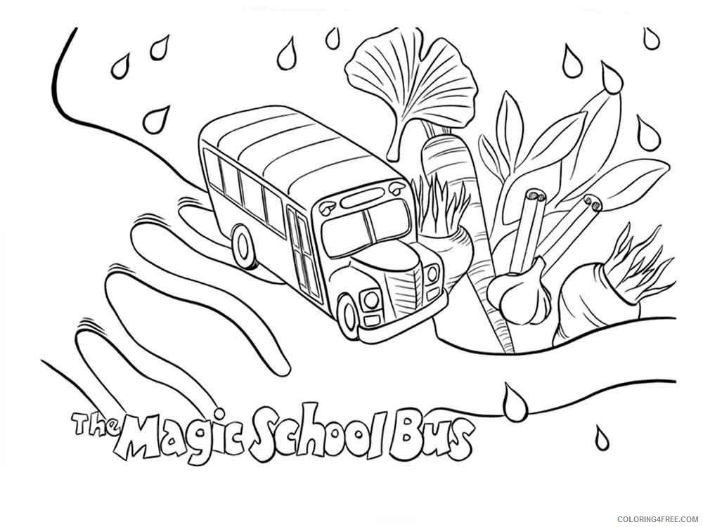 - The Magic School Bus Coloring Pages Cartoons Magic School Bus 9 Printable  2020 6483 Coloring4free - Coloring4Free.com