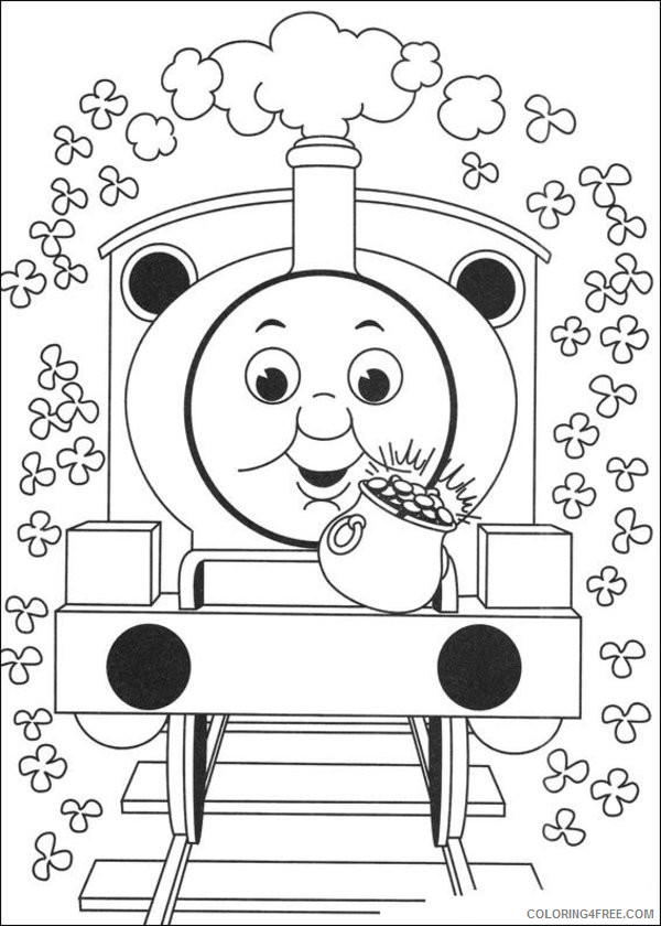 Thomas And Friends Coloring Pages Cartoons Thomas The Train 2 Printable  2020 6562 Coloring4free - Coloring4Free.com