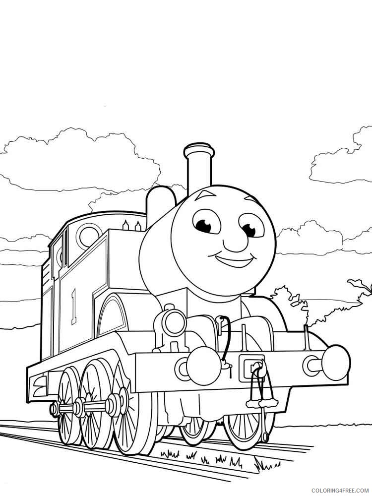 Thomas And Friends Coloring Pages Cartoons Thomas The Tank Engine 10  Printable 2020 6537 Coloring4free - Coloring4Free.com