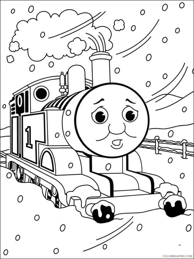 Thomas And Friends Coloring Pages Cartoons Thomas The Tank Engine 12  Printable 2020 6539 Coloring4free - Coloring4Free.com