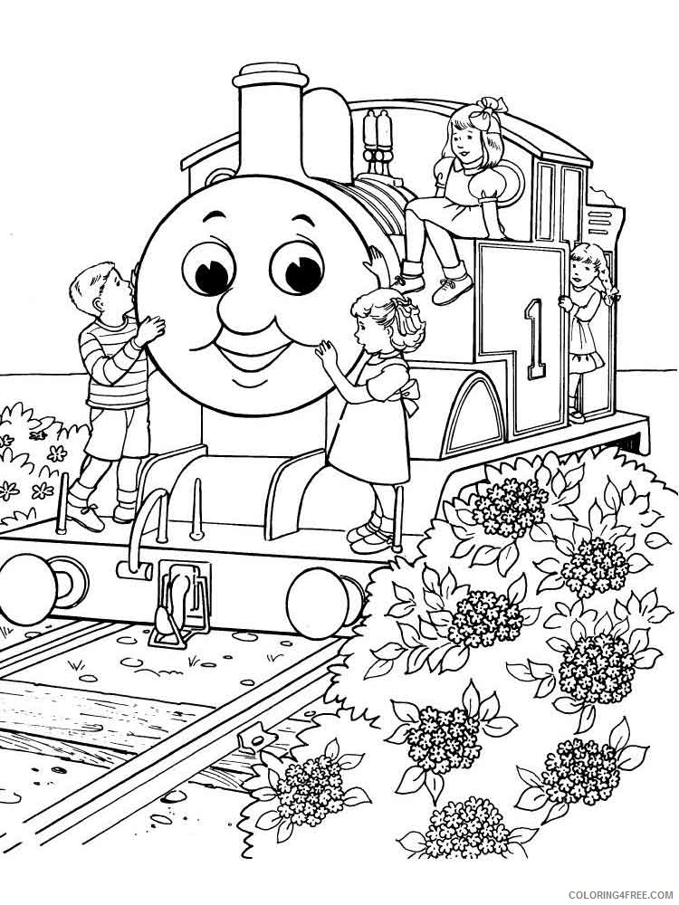 Thomas And Friends Coloring Pages Cartoons Thomas The Tank Engine 6  Printable 2020 6547 Coloring4free - Coloring4Free.com