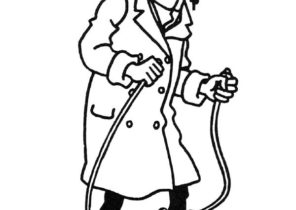 Tintin Coloring Pages Coloring4free Com