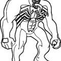 Venom Coloring Pages Cartoons Venom Printable 2020 6872 Coloring4free Coloring4free Com