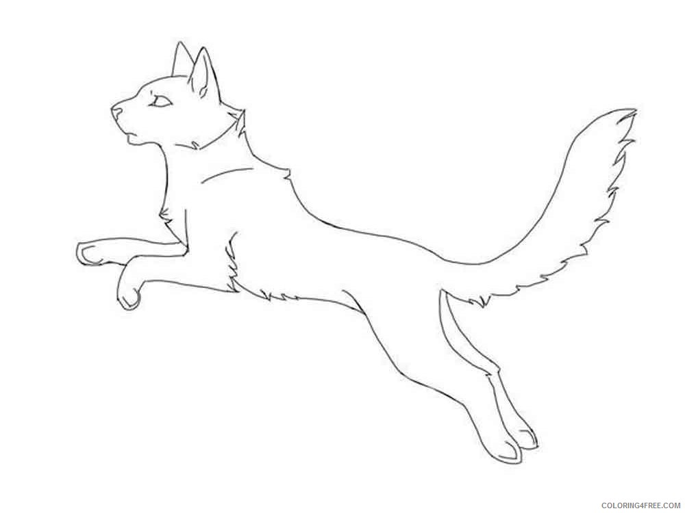 Warrior Cats Coloring Pages Cartoons Warrior Cats 12 Printable 2020 6889  Coloring4free - Coloring4Free.com