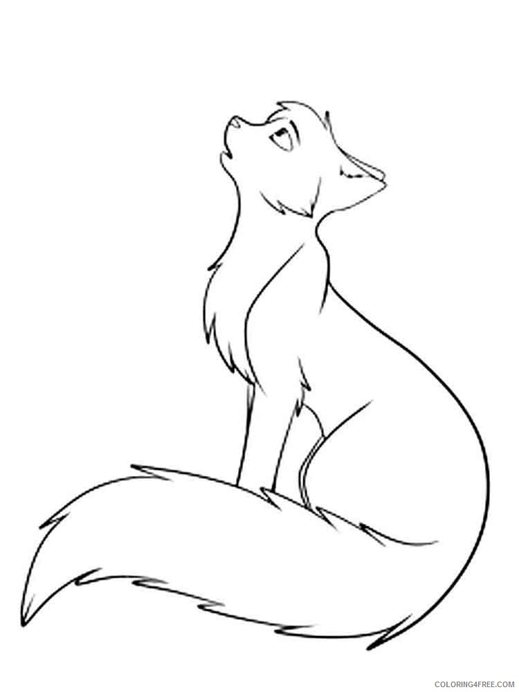 Warrior Cats Coloring Pages Cartoons Warrior Cats 17 Printable 2020 6894  Coloring4free - Coloring4Free.com