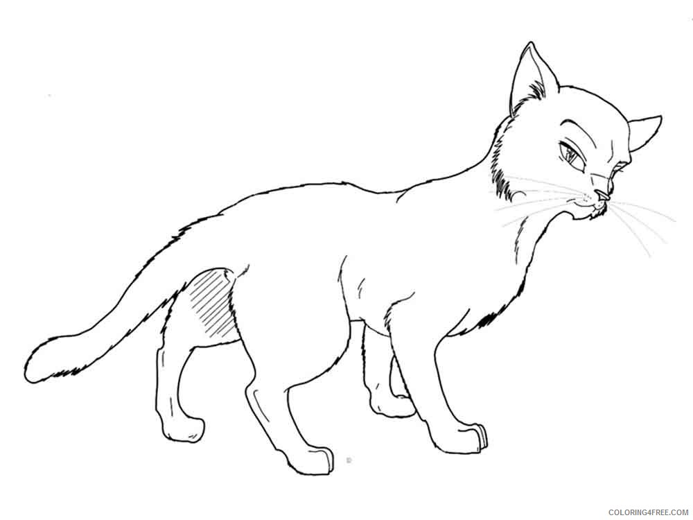 - Warrior Cats Coloring Pages Cartoons Warrior Cats 4 Printable 2020 6898  Coloring4free - Coloring4Free.com