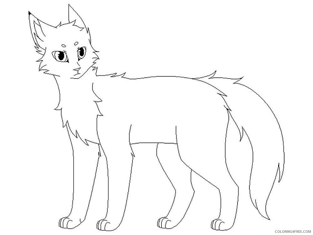 - Warrior Cats Coloring Pages Cartoons Warrior Cats 9 Printable 2020 6903  Coloring4free - Coloring4Free.com