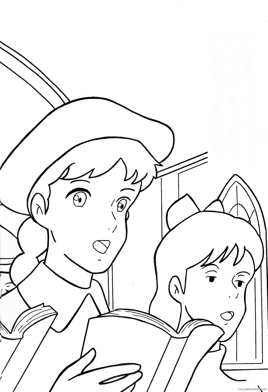 Anne of Green Gables Coloring Pages TV Film anne green gables 27 Printable 2020 00155 Coloring4free