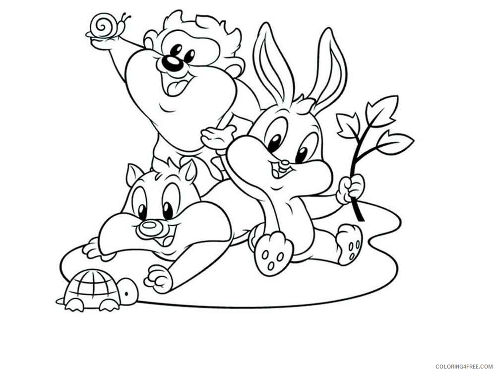 Baby Looney Tunes Coloring Pages Tv Film Baby Looney Tunes 6 Printable 2020 00477 Coloring4free Coloring4free Com