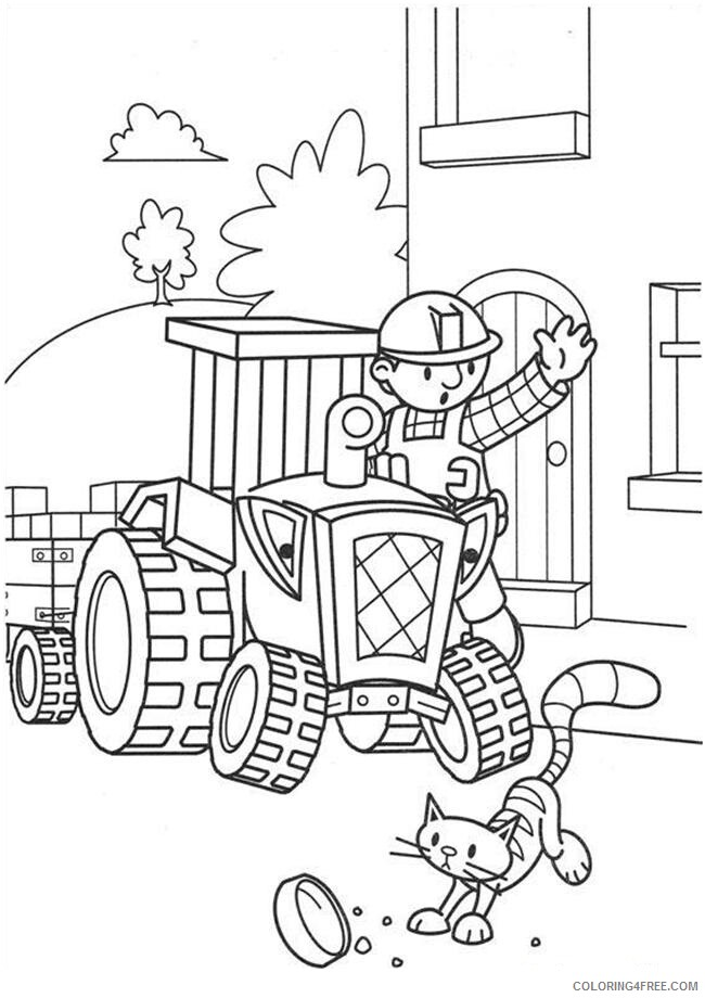 Bob the Builder Coloring Pages TV Film Bob The Builder Photos Printable 2020 00999 Coloring4free
